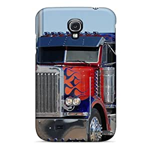 High Quality Optimus Prime Truck Style Cover Case For Galaxy S4