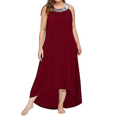 aperçu de avant-garde de l'époque complet dans les spécifications Jaysis Robe Femme Grande Taille Longue Robe Ete Droite Chic ...
