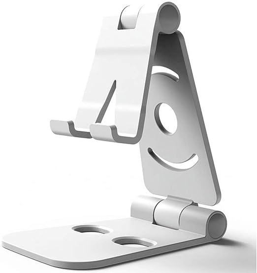 P-KLL Phone Holder Phone Holder,Mobile Phone Bracket Telescopic Lifting Desktop Live Broadcast Lazy Support Flat Metal Bracket Multifunctional Adjustable Mobile Phone Desk Holder,for Tablet Smartpho
