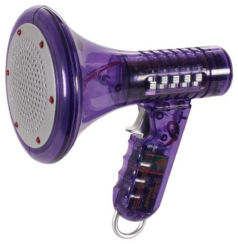 Multi Voice Changer by Toysmith: Change your voice with 8 different voice modifiers - Kids Toy (Purple) -