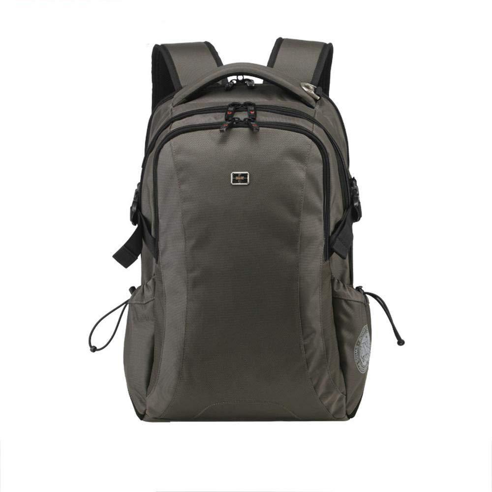 TtKj Sports Backpack Mens Leisure Travel Backpack Canvas Student Shoulder Bag