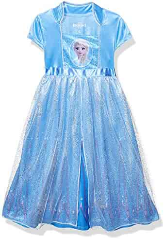 Disney Girls' Frozen 2 Elsa Fantasy Gown