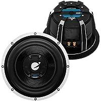 Planet Audio BBD12 2500 Watts 12 Dual Voice Coil 4 Ohm Car Subwoofer DVC (pair)
