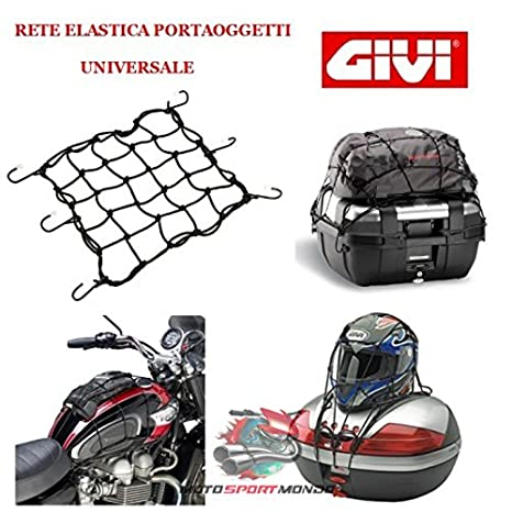 Givi T10 N negra con agganci Red para montaje Maletas: Amazon.es: Coche y moto