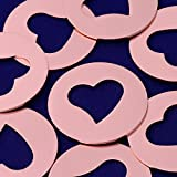 20pcs tibetara 1 1/4''(32mm) Round copper Hollow out the heart Stamping Blank Diy Jewelry Supplies