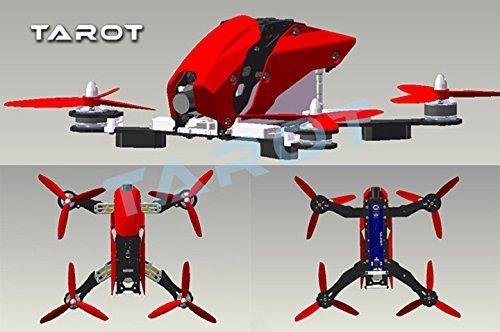 Tarot FPV 250 de fibra de carbono Racing Drone Kit de fuselaje ...