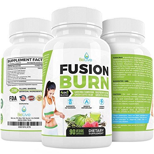 Extrait de Garcinia Cambogia Weight Loss Pills to Burn Fat Dr rapide pilules brûleur de graisse ingrédients a recommandé pour les femmes et les hommes - naturels & cliniquement prouvés - 90 Veggie Caps du ventre