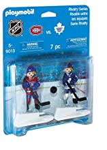 Playmobil Sports & Action NHL Blister Toronto Maple Leafs vs Montreal Canadiens Figura de construcción - Figuras de construcción,, 5 año(s), Niño/niña, 2 Pieza(s), 7 Pieza(s)