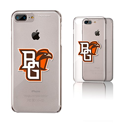 Keyscaper Bowling Green Clear Case for the iPhone 6+/6S+/7+/8+ NCAA (Apple Store Green Bowling)