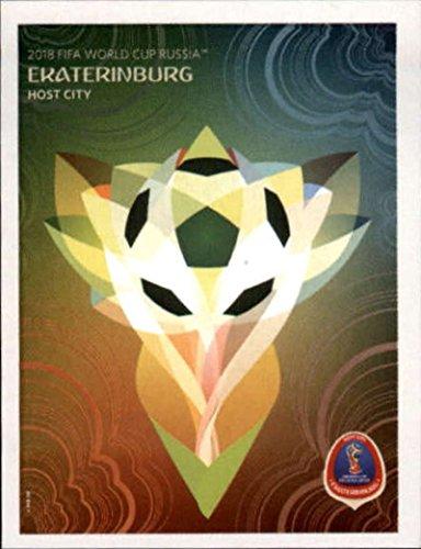 Russia Card (2018 Panini World Cup Stickers Russia #30 Ekaterinburg Soccer Sticker)