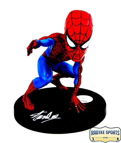 Stan Lee Autographed/Signed Marvel Classic Spider-Man Head Knocker