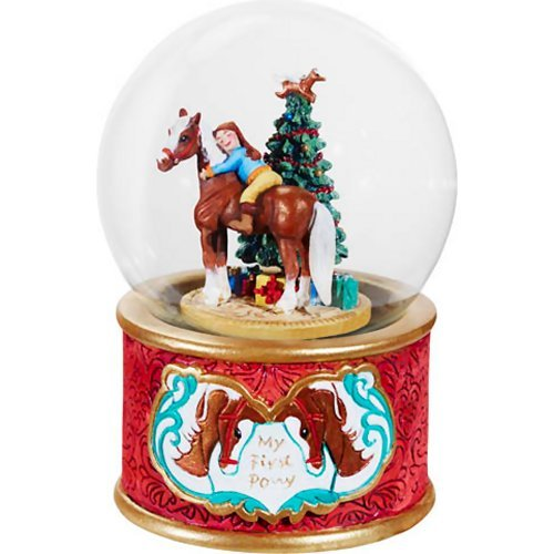 Breyer My First Pony Musical Snow Globe