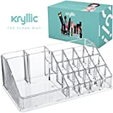 Acrylic Makeup & Lipstick Organizer, Cosmetic Brush Holder, Arranges Makeup and Accessories, Beauty Display Container, By Kryllic