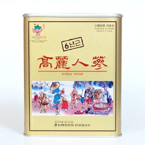 最高級「高麗人参」朝鮮人参(6年根)25本入り B01ASNPZD0