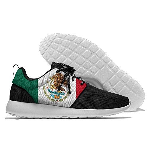 Yoigng Menns Meksikanske Flagget Joggesko Sport Joggesko Casual Sko