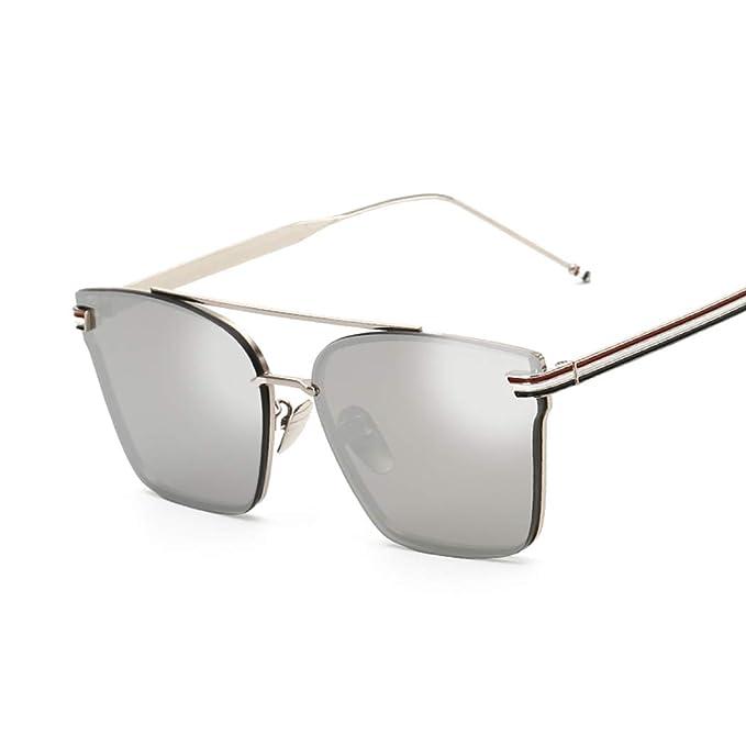 8d1963c80c MZQ-YJ Unisex Retro Gafas de sol Europa y Estados Unidos Tendencia Gafas de  sol