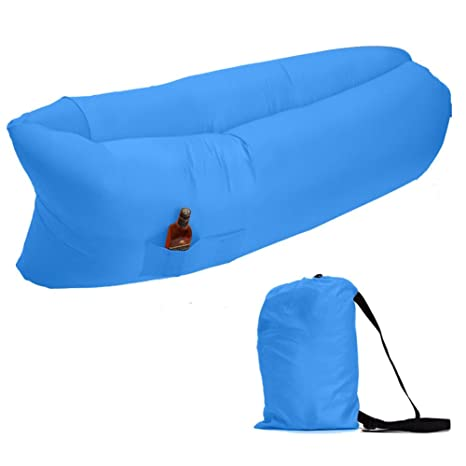 zuoao inflable tumbona playa camas de aire de compresión saco de ...