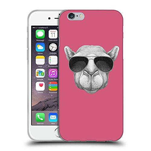 GoGoMobile Coque de Protection TPU Silicone Case pour // Q05460614 Chameau soleil Rougir // Apple iPhone 7