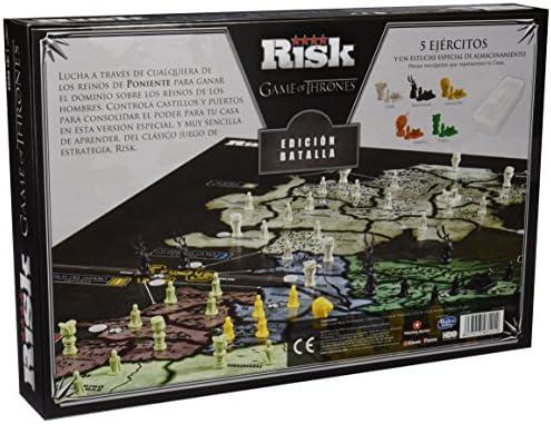 Juego De Tronos- Risk Ed. Batalla Edición Juego de Mesa ...