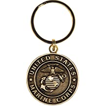 US Marine Corps Keychain Military Products Key Rings Veterans Soldiers Men Women