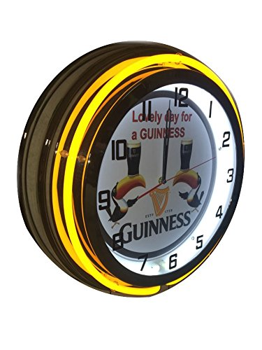 Guinness Beer Signs (Guinness Toucan Sign - Lovely Day for a 19 inch neon clock)