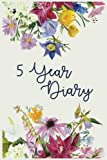 5 Year Diary: 5 Years Of Memories, Blank Date No Month, 6 x 9, 365 Lined Pages