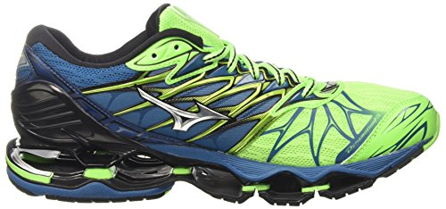 Hombre de Greengeckosilverbluesapphire Wave Zapatillas 7 Mizuno Running para Prophecy Multicolor vHqwvCnp