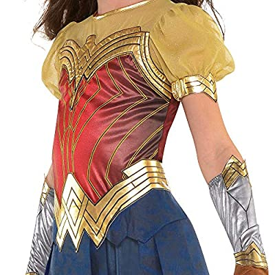Suit Yourself Wonder Woman Movie Halloween Costume for Girls, Large, Includes Accessories: Clothing