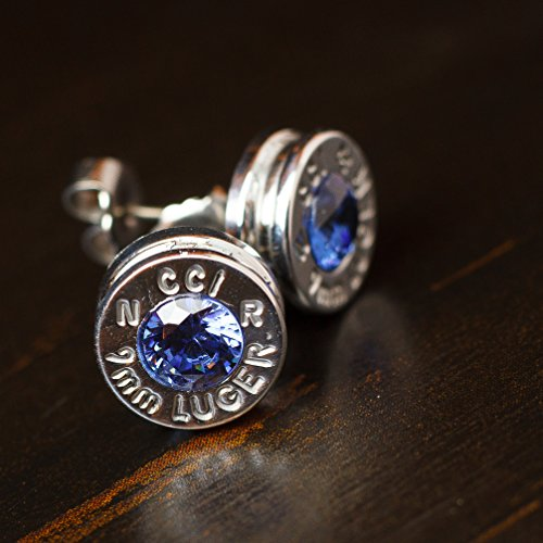9mm-aluminum-bullet-casing-earrings-blue-cz-with-titanium-posts-hypoallergenic-nickel-free-bullet-ea