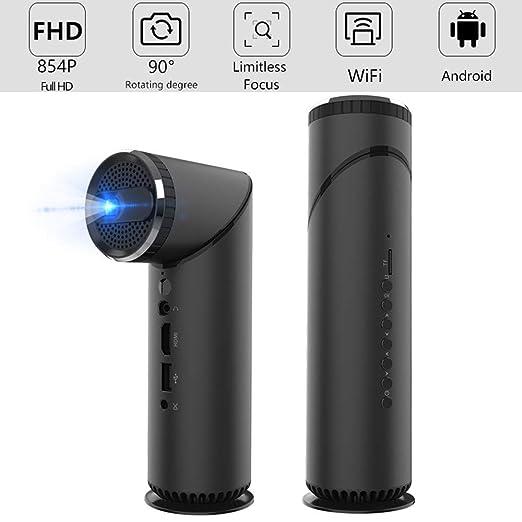 XZGG Proyectores 4k De Cine En Casa Mini Proyector WiFi Bluetooth ...