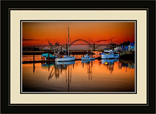 Northwest Art Mall NB-7869 MFGDM Yaquina Bay Bridge at