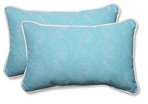 """Set of 2 Nabil Caribbean Rectangular Throw Pillows 18.5"""""""