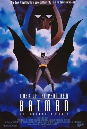Batman: Mask of the Phantasm Movie Poster (27 x 40 Inches - 69cm x 102cm) (1993) -(Kevin Conroy)(Dana Delany)(Mark Hamill)(Stacy Keach)(Hart Bochner)(Abe Vigoda) by MG Poster -