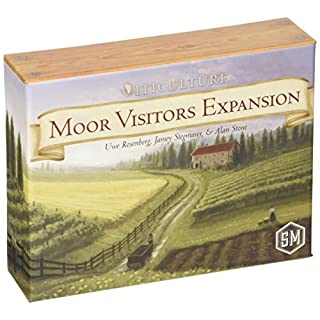 Stonemaier Games Viticulture: Moor Visitors Expansion