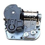Helen Zora 18 Note Windup Clockwork Mechanism DIY Music Box Movement Many Song for Choose (You Are My Sunshine)