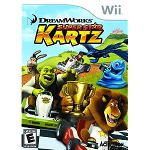 Dreamworks Super Star Kartz - Nintendo Wii