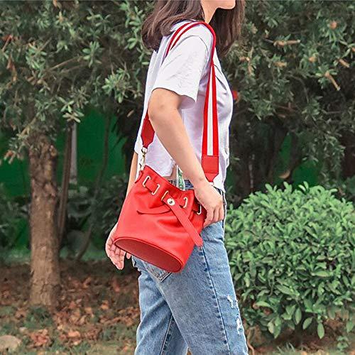 Seau Messenger Polyvalent sacs Main Bandoulière Et Pour Femme À Red Sac Simple Décontracté qwAfII