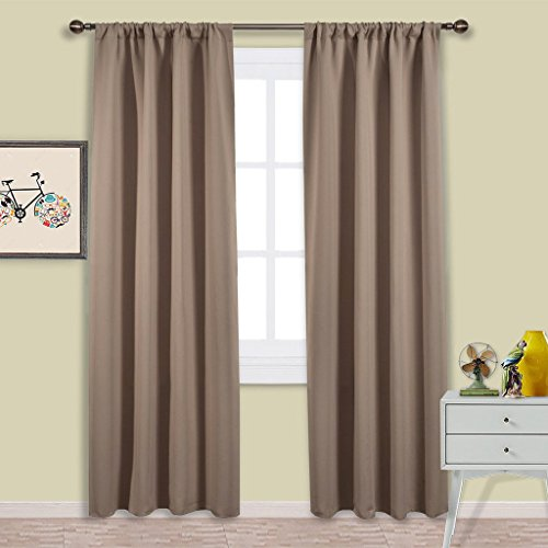 Nicetown Window Curtains Blackout Draperies product image