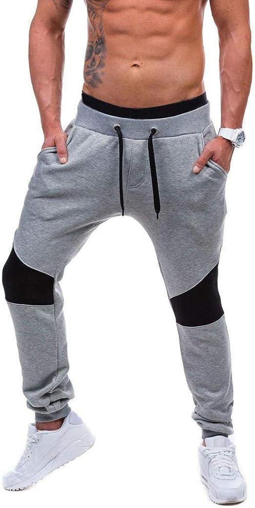 Minetom Chándal de Jogger para Hombre Pantalones Deportivos ...