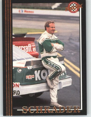 1992 Maxx Black Racing Card # 25 Ken Schrader - NASCAR Trading Cards - Shipped in Screw Down Case!