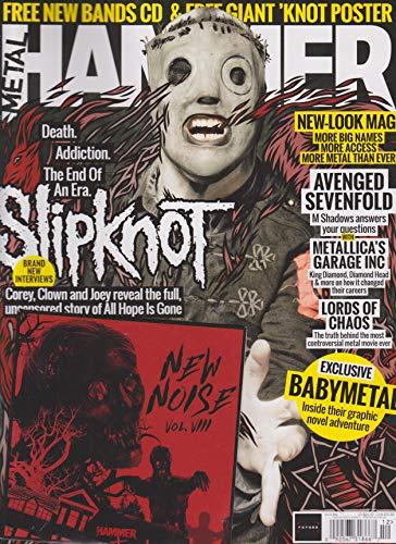 (Metal Hammer Magazine December 2018 Issue 316 Slipknot)