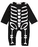 Newborn Baby Boy Girls Romper Bodysuit Infant Kids Halloween Costume Jumpsuit Outfits (0-6Months)