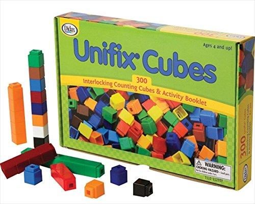 (Unifix Cubes - 300 Pieces 10 Assorted Colors)