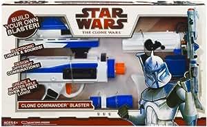 Hasbro - Star Wars - 876262650 - Figurita - Accesorios - Guerras Clon último Blaster - Rifle electrónico