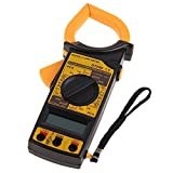 HaloVa Multimeter Advanced Clamp Meter, Digital Clamp Ammeter for AC/DC Voltage Test, with Continuity Buzzer and Backlight LCD Display