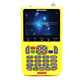 Satellite Detector, KKmoon DVB-S2 V8 Finder Digital Satellite Finder With 3.5 inch LCD Digital Display