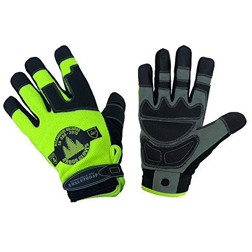 Forester Hi‑Vis Arborist Rope/Climbing Glove (2 Extra Large) ()