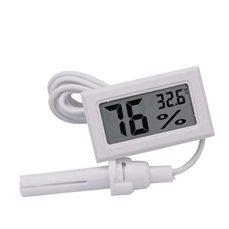 Mini LCD Digital Termómetro Higrómetro Nevera Congelador Probador ...