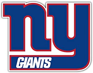 Giants Football - New York Sport Decal 5'' X 4''