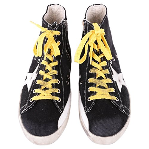 GOLDEN GOOSE HOMME GARMS59132B13 NOIR BASKETS MONTANTES iVbR7dl
